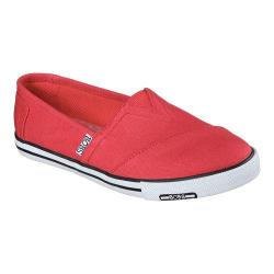 Women's Skechers BOBS Lo-Topia Pleasantville Alpargata Red