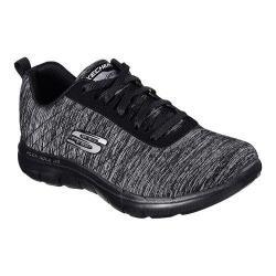 Women's Skechers Flex Appeal 2.0 Training Sneaker Black/Charcoal