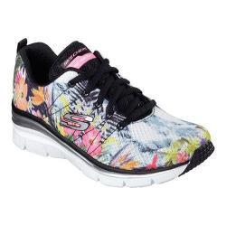 Women's Skechers Fashion Fit Spring Essential Sneaker Black/Multi
