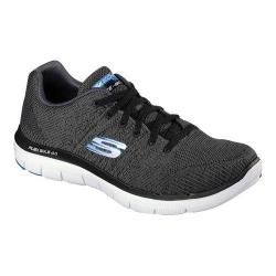 Men's Skechers Flex Advantage 2.0 Missing Link Sneaker Charcoal/Black