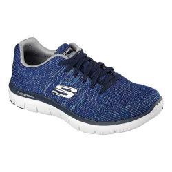 Men's Skechers Flex Advantage 2.0 Missing Link Sneaker Navy/Gray