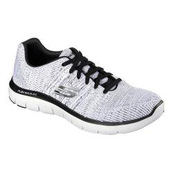 Men's Skechers Flex Advantage 2.0 Missing Link Sneaker White/Black