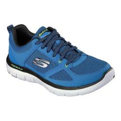 Men's Skechers Flex Advantage 2.0 Training Shoe Blue/Lime