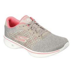 Women's Skechers GOwalk 4 Exceed Walking Shoe Gray