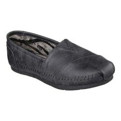 Women's Skechers Luxe BOBS Blue Skies Alpargata Charcoal
