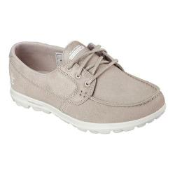 Women's Skechers On The GO Overboard Boat Shoe Taupe