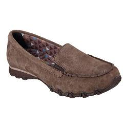 Women's Skechers Relaxed Fit Bikers Roamer Loafer Chocolate