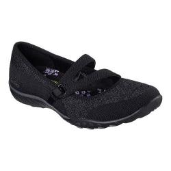 Women's Skechers Relaxed Fit Breathe Easy Lucky Lady Mary Jane Black