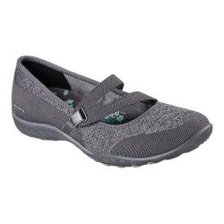 Women's Skechers Relaxed Fit Breathe Easy Lucky Lady Mary Jane Charcoal
