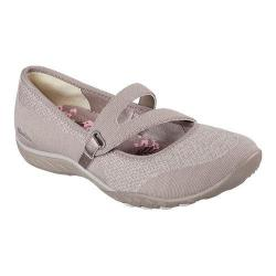 Women's Skechers Relaxed Fit Breathe Easy Lucky Lady Mary Jane Taupe