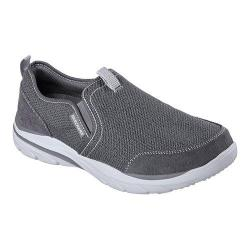 Men's Skechers Relaxed Fit Corven Horst Slip On Charcoal