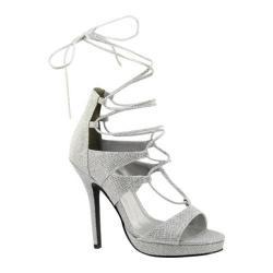 Women's Touch Ups Luna Platform Sandal Silver Shimmer