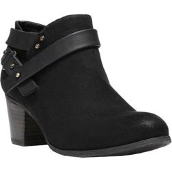 Women's Fergalicious Ghandi Bootie Black Synthetic Suede