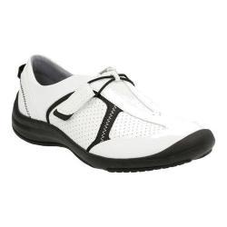 Women's Clarks Asney Slip-on Shoe White Leather