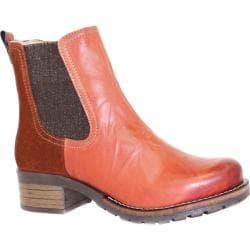 Women's Dromedaris Kourtney Chelsea Boot Rusty Leather/Suede
