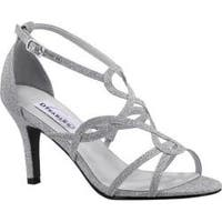 Women's Dyeables Madison Strappy Sandal Silver Glitter
