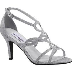 Women's Dyeables Madison Strappy Sandal Silver Glitter (More options available)
