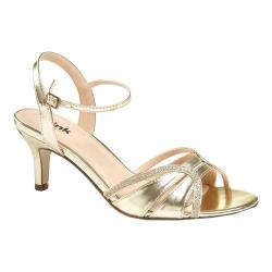 Women's Pink Paradox London Harriet Sandal Gold Glitter