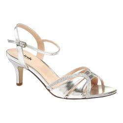 Women's Pink Paradox London Harriet Sandal Silver Glitter
