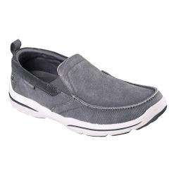 Men's Skechers Relaxed Fit Harper Delen Loafer Gray
