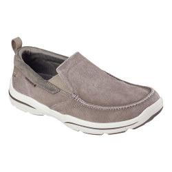 Men's Skechers Relaxed Fit Harper Delen Loafer Khaki