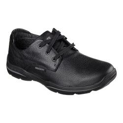 Men's Skechers Relaxed Fit Harper Epstein Oxford Black