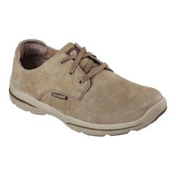 Men's Skechers Relaxed Fit Harper Epstein Oxford Light Brown