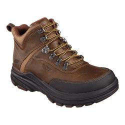 Men's Skechers Relaxed Fit Holdren Brenton Boot Dark Brown