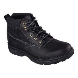 Men's Skechers Relaxed Fit Resment Alento Boot Black