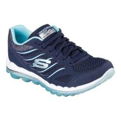 Women's Skechers Skech-Air 2.0 Training Shoe Navy/Light Blue