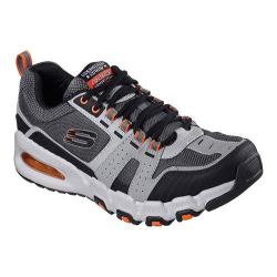 Men's Skechers Skech-Air G-Force Air Training Shoe Gray/Orange