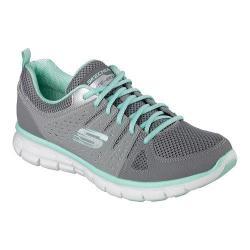 Women's Skechers Synergy Look Book Walking Shoe Gray/Multi