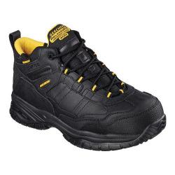 Men's Skechers Work Relaxed Fit Soft Stride Gilbe Comp Toe Boot Black