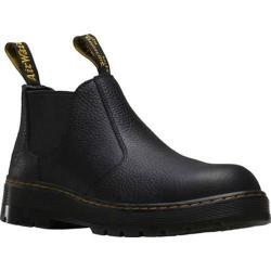 Men's Dr. Martens Rivet Steel Toe Chelsea Boot Black Pitstop Leather