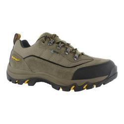 Men's Hi-Tec Skamania Low Waterproof Hiking Boot Smokey Brown/Taupe/Gold Suede