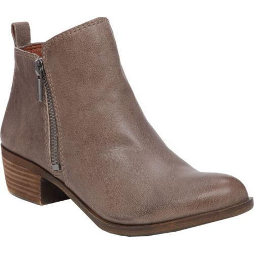51275c0d8c2d Shop Women s Lucky Brand Basel Bootie Brindle Leather - Free Shipping Today  - Overstock - 12273536