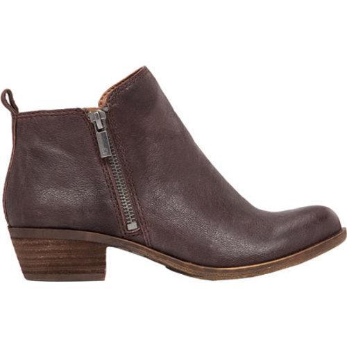 Women's Lucky Brand Basel Bootie Java Leather - Thumbnail 1