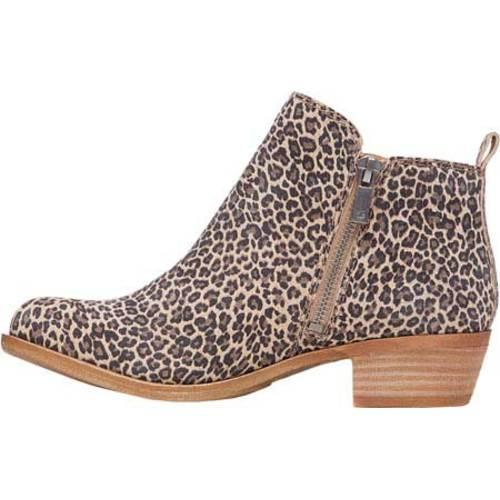 Women's Lucky Brand Basel Bootie Sesame Printed Suede - Thumbnail 2