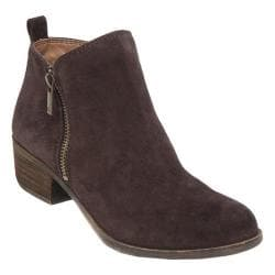Women's Lucky Brand Basel Bootie Java Oiled Suede