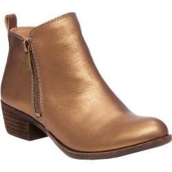 Women's Lucky Brand Basel Bootie Old Bronze Leather