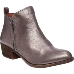 Women's Lucky Brand Basel Bootie Old Pewter Leather