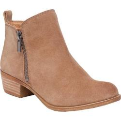 Women's Lucky Brand Basel Bootie Sesame Oiled Suede