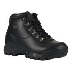 Men's Lugz Torque Hiking Boot Black Perma Hide