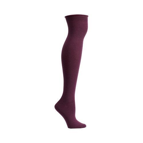 71894788e28 Shop Women s Ozone High Zone Knee High Socks (3 Pairs) Eggplant - Free  Shipping On Orders Over  45 - Overstock - 12273582