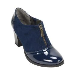 Women's White Mountain Pawnee Bootie Navy Multi Patent