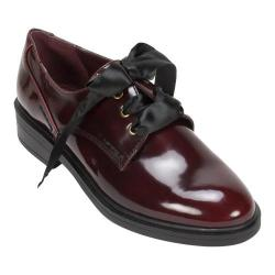 Women's White Mountain Pearson Oxford Burgundy Brush/Off Smooth