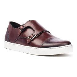 Men's Crevo Lawless Monkstrap Sneaker Bordo