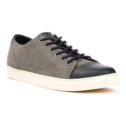 Men's Crevo Quinton Cap Toe Sneaker Charcoal/Black Suede