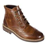 Men's Crevo Speak Easy Wingtip Boot Chestnut