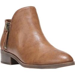 Women's Fergalicious Nash Bootie Tan Synthetic Leather